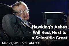 Hawking to Be Interred Next to Sir Isaac Newton
