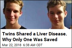 He Got a Life-Saving New Liver. His Twin Wasn't So Lucky