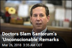 Santorum Slammed for Remarks on Gun Protests