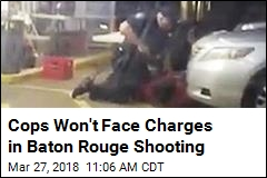 Cops Won't Face Charges in Baton Rouge Shooting