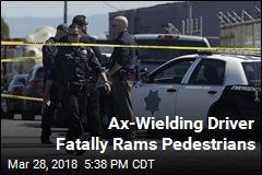 Ax-Wielding Driver Fatally Rams Pedestrians