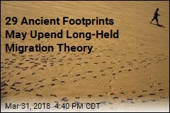 29 Ancient Footprints Found Along Pacific Coast