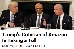 Trump Has a Big, New Target: Amazon