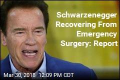 Schwarzenegger Has Emergency Open-Heart Surgery: Report