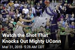 This Last-Second Shot Stuns Mighty UConn