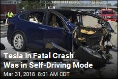 Tesla in Fatal Crash Was in Self-Driving Mode