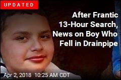 Desperate Search in LA for Teen Who Fell Into Drainpipe