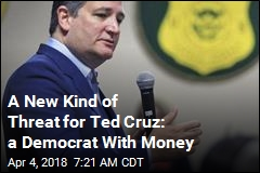 A New Kind of Threat for Ted Cruz: a Democrat With Money