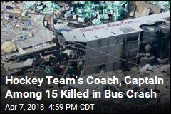 Death Toll in Hockey Team Bus Crash Rises to 15
