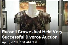 Russell Crowe Just Held Very Successful Divorce Auction