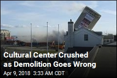 Botched Silo Demolition Wrecks Cultural Center