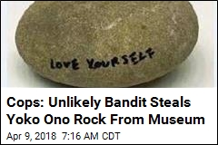 Cops: Unlikely Bandit Steals Yoko Ono Rock From Museum