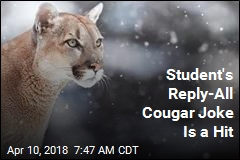 Student's Reply-All Cougar Joke Is a Hit