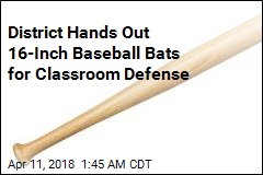 District Gives Teachers Bats to Fight School Shooters