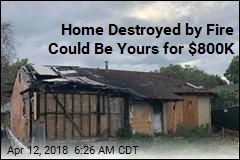 Home Destroyed by Fire Could Be Yours for $800K