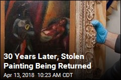 Stolen in 1988, Chagall Painting to Head Home