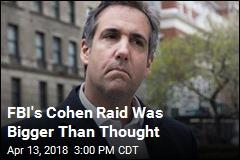 Trump Attorney Cohen Under Criminal Investigation