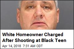 White Homeowner Charged After Shooting at Black Teen