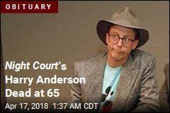 Night Court Star Harry Anderson Dies