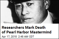 Researchers Mark Death of Pearl Harbor Mastermind