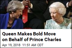 Queen Makes Bold Move on Behalf of Prince Charles