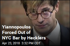 Hecklers Force Milo Yiannopoulos Out of NYC Bar