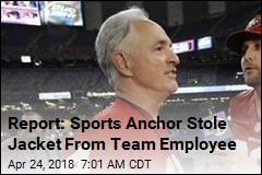 Report: Sports Anchor Stole Jacket From Team Employee