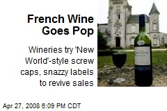 French Wine Goes Pop