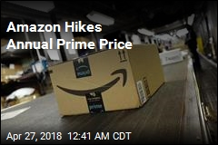 Amazon Hikes Annual Prime Price