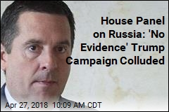 House Panel on Russia: 'No Evidence' Trump Campaign Colluded