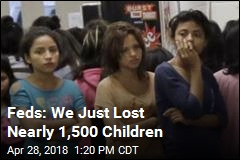 Feds: We Just Lost Nearly 1,500 Children