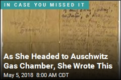 Auschwitz Letter Thought to Be Only One of Its Kind