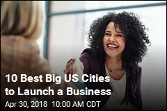 10 Best Big US Cities to Launch a Business