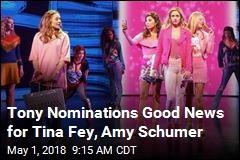 Tina Fey, SpongeBob Lead Pack in Tony Nominations