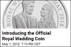 Harry, Meghan Get Their Own Official Royal Wedding Coin