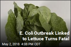 E. Coli Outbreak Linked to Lettuce Turns Fatal