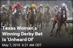 Texas Woman's $18 Derby Bet Wins Her $1.2M