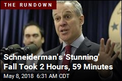 Schneiderman's 'Stunning' Fall Took 2 Hours, 59 Minutes