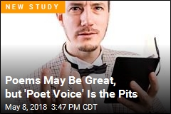 Science Proves Boring 'Poet Voice' Exists