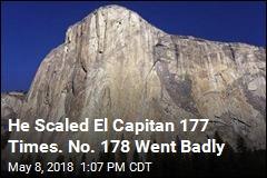Rock-Climbing Legend Survives Harrowing Fall