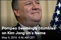 Pompeo Arrives in N. Korea to Finalize Trump Talks