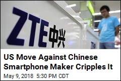 US Move Against Chinese Tech Giant Cripples It