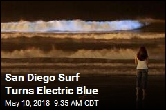 Near San Diego, Waves Are Glowing