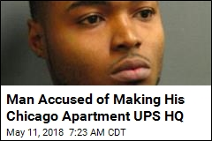 Man Accused of Making His Chicago Apartment UPS HQ