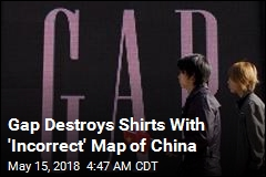 Gap Apologizes for 'Incorrect' Map of China