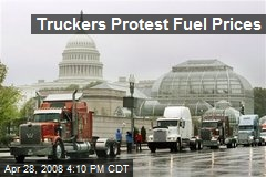 Truckers Protest Fuel Prices