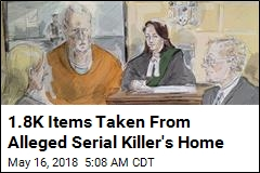 Alleged Serial Killer's Home Searched Inch-by-Inch