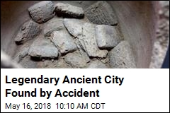 Ancient, Legendary City Found by Accident