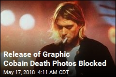 Court Blocks Release of Cobain Death Scene Photos