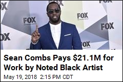 Sean Combs Pays $21.1M for Work by Noted Black Artist